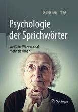 Psychologie der Sprichw  rter PDF