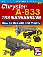 Chrysler A 833 Transmissions PDF