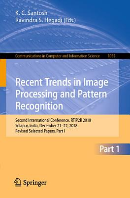 Recent Trends in Image Processing and Pattern Recognition PDF