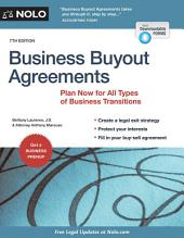 Business Buyout Agreements: Plan Now for All Types of Business Transitions, Edition 7
