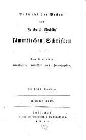 Auswahl des Besten aus Friedrich Rochlitz sämmtlichen Schriften: Band 6