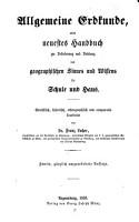 Allgemeine Erdkunde PDF