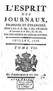 L'Esprit des journaux franc̜ais et étrangers: Volume53
