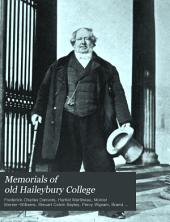Memorials of Old Haileybury College