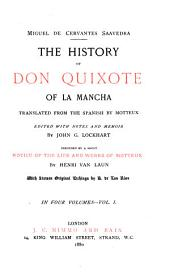 The History of Don Quixote of la Mancha: Volume 1