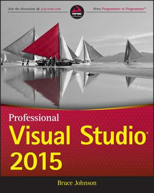 Professional Visual Studio 2015 PDF