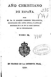 Año christiano de España: Volumen 3