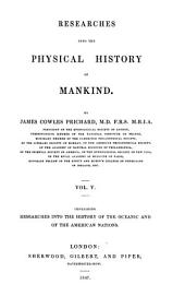 Researches Into the Physical History of Mankind: Volume 5
