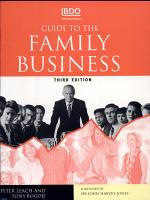 Guide to the Family Business