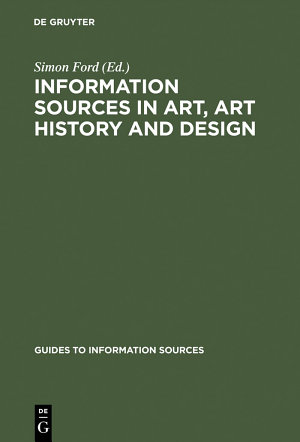 Information Sources in Art  Art History and Design