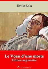 Le Voeu d'une morte: Nouvelle édition augmentée