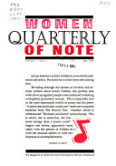 Download Women of Note Quarterly Book
