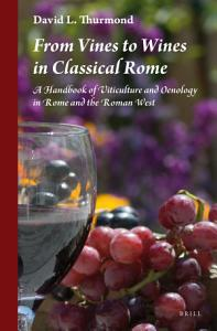From Vines to Wines in Classical Rome Book