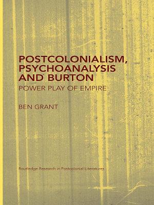 Postcolonialism  Psychoanalysis and Burton