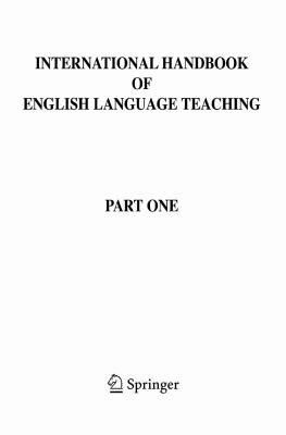 International Handbook of English Language Teaching PDF