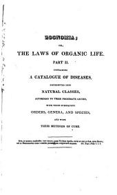 Zoonomia; Or The Laws of Organic Life: Volume 2