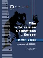 Film and Television Collections in Europe   the MAP TV Guide PDF