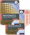 Oxford IB Diploma Programme  IB Mathematics  Analysis and Approaches  Standard Level  Print and Enhanced Online Course Book Pack