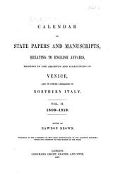 Calendar of State Papers and Manuscripts Relating, to English Affairs, Existing in the Archives and Collections of Venice: And in Other Libraries of Northern Italy, Volume 2