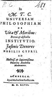 Cicero Ciceronis ubmnor