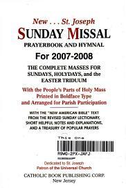 New St  Joseph Sunday Missal Prayerbook And Hymnal