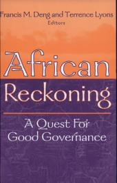 African Reckoning: A Quest for Good Governance