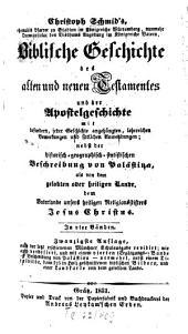 Biblische Geschichte des alten und neuen Testamentes und der Apostelgeschichte: In 4 Bänden