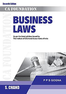 Business Laws  CA Foundation