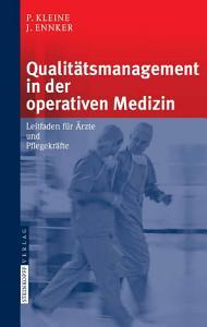 Qualit  tsmanagement in der operativen Medizin PDF
