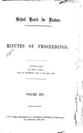 Minutes of Proceedings: Volume 14