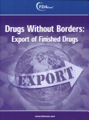 Drugs Without Borders: Export of Finished Drugs
