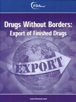 Drugs Without Borders  Export of Finished Drugs PDF