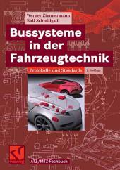 Bussysteme in der Fahrzeugtechnik: Protokolle und Standards