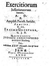 Exercitia Iusitianea: Volume 6