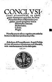 Conclusiones Nongentae, In Omni genere scientiarum