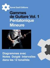 Gammes de Guitare Vol. 1: Pentatonique Mineure