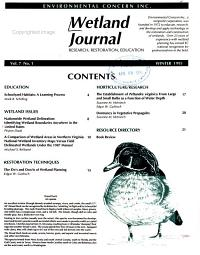 Wetland Journal PDF