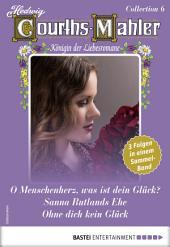 Hedwig Courths-Mahler Collection 6 - Sammelband: 3 Liebesromane in einem Sammelband