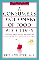A Consumer s Dictionary of Food Additives PDF