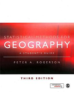 Statistical Methods for Geography PDF