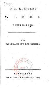 Werke: Bd. Der Weltmann und der Dichter
