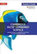 Cambridge IGCSE   Combined Science  Teacher Guide PDF