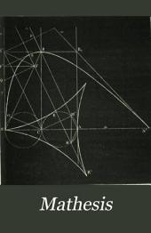 Mathesis: recueil mathématique, Volume8