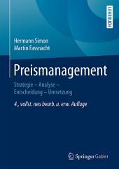Preismanagement: Strategie - Analyse - Entscheidung - Umsetzung, Ausgabe 4