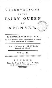 Observations on The Fairy Queen of Spenser: Volume 2