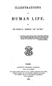 Works: Illustrations of Human Life, Volume 1