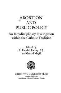 Abortion and Public Policy PDF