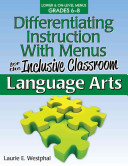 Differentiating Instruction with Menus for the Inclusive Classroom PDF