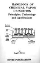 Handbook of Chemical Vapor Depostion  i e  Deposition   CVD