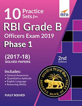 10 Practice Sets for RBI Grade B Officers Exam 2019 Phase 1   2nd Edition PDF